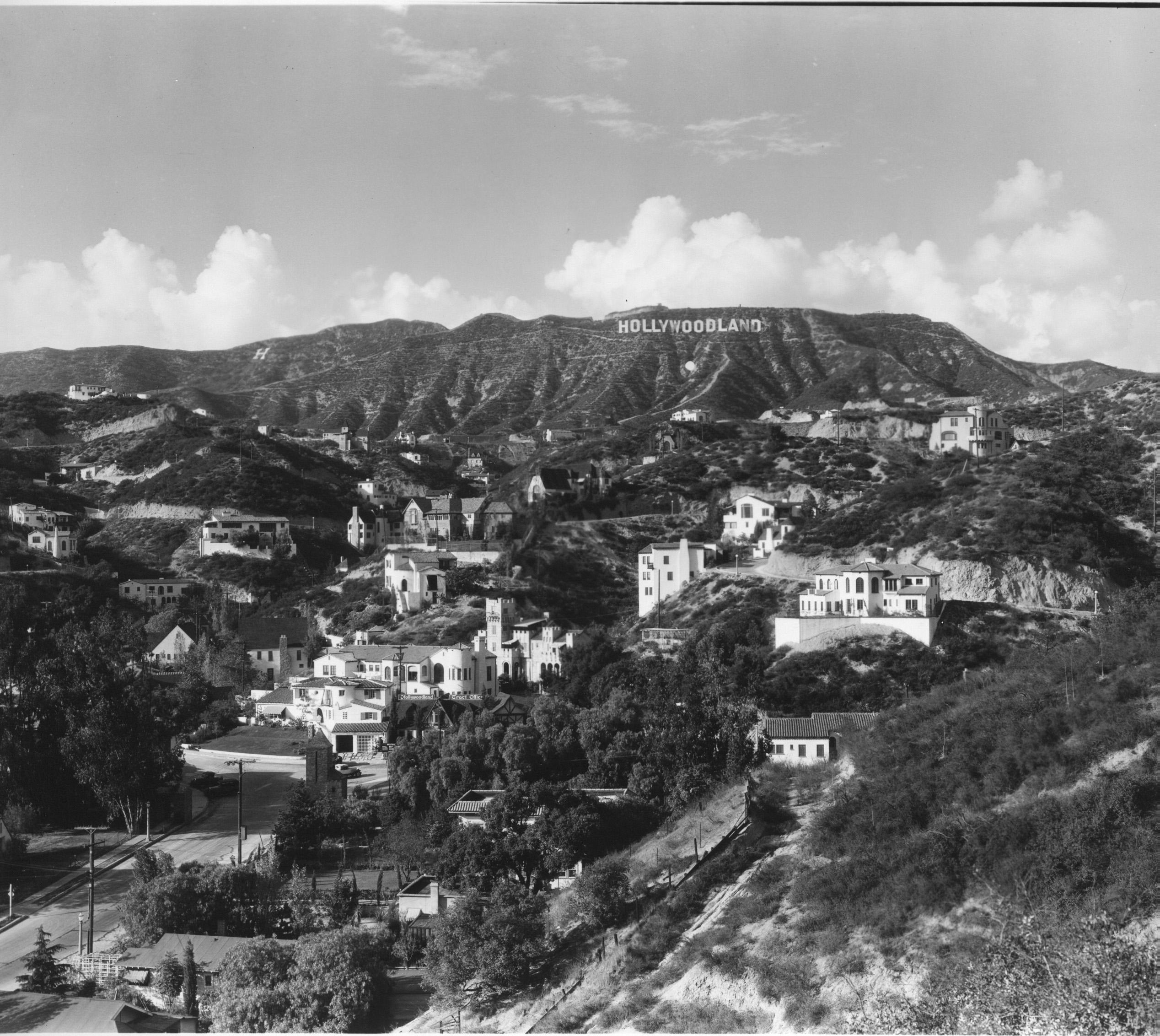 hollywoodland, c. 1926