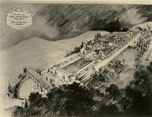 Mack Sennett's Unbuilt Dream House on Cahuenga Peak (3/3)