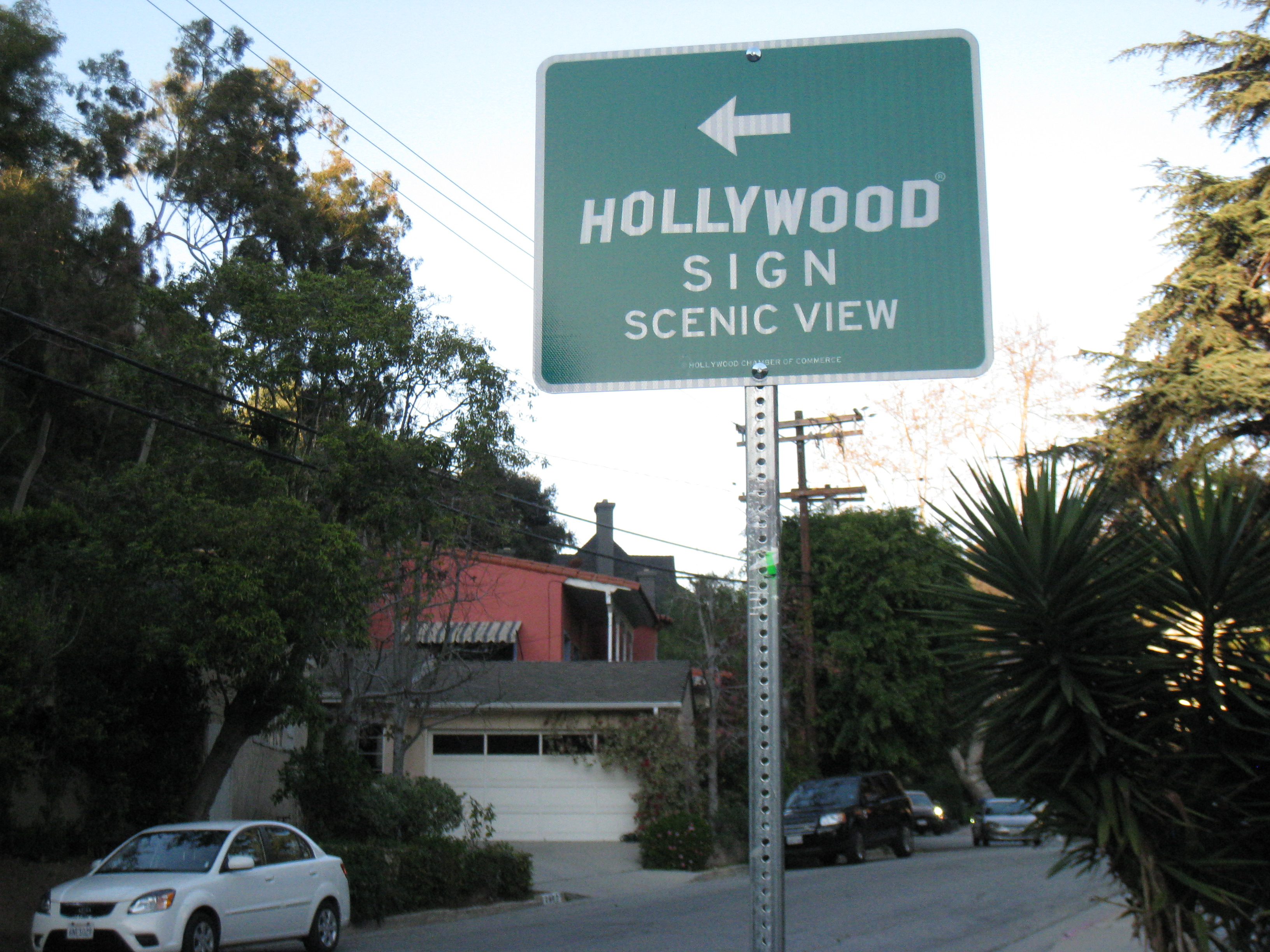 HHA to Tourists: Drive On Up to the Hollywood Sign! | Under the ...
