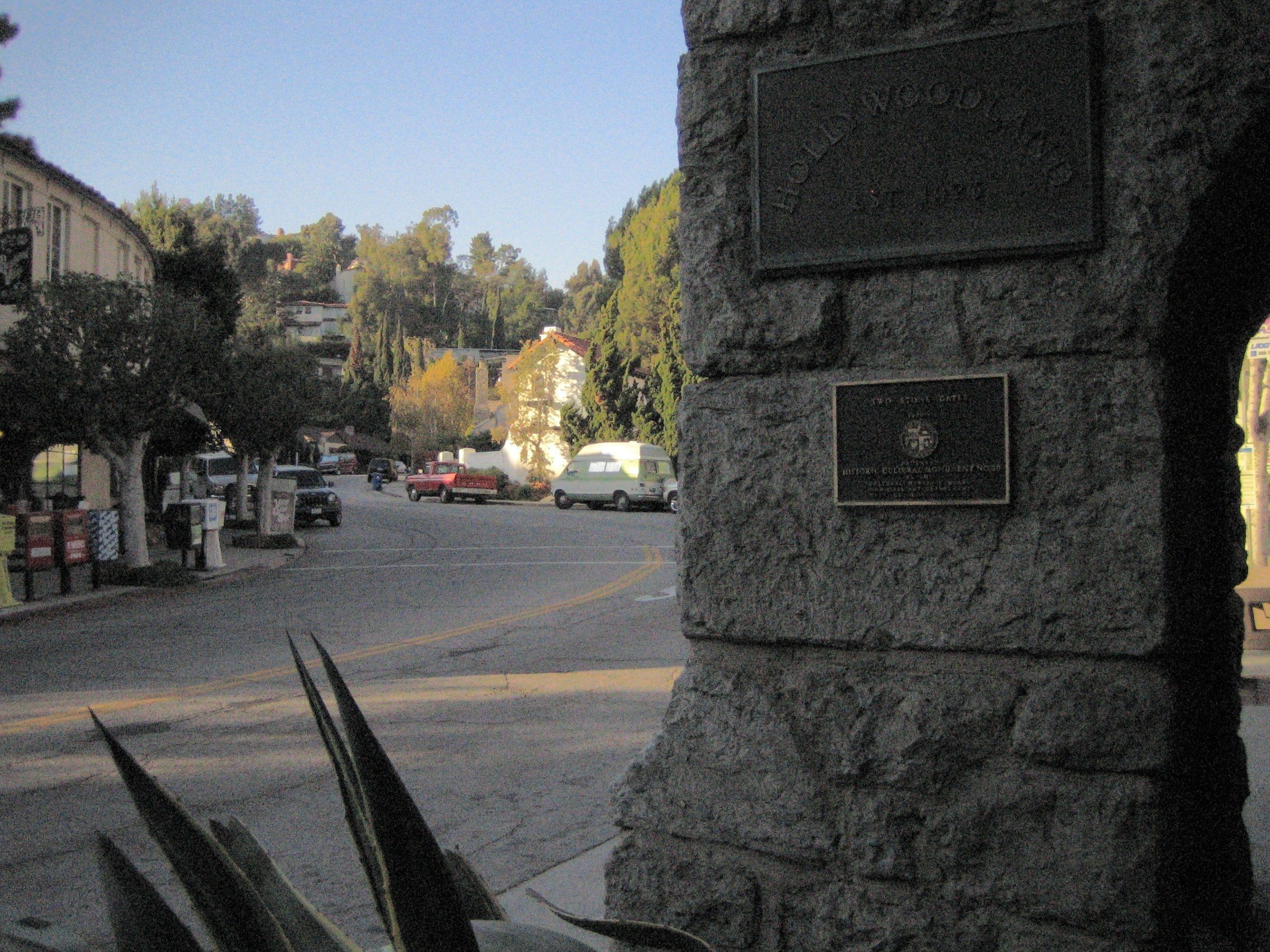 Los Angeles Historic Landmarks Under The Hollywood Sign