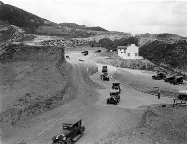 Yerba Buena, Mulholland Highway, and Topanga Canyon - Porsche 356 ...
