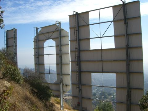 Back of the Hollywood Sign/Hope Anderson Productions
