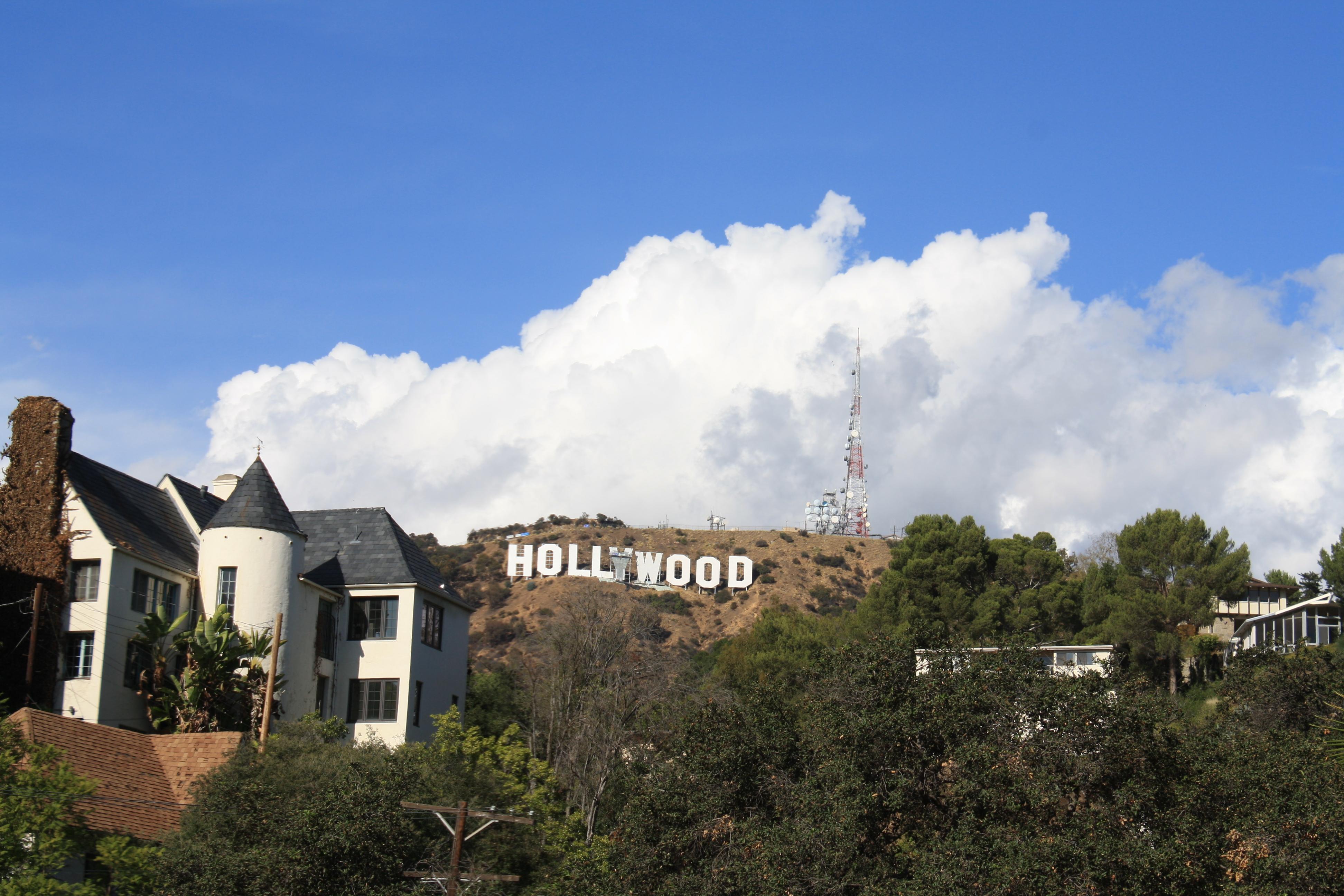 Hugh Hefner | Under the Hollywood Sign