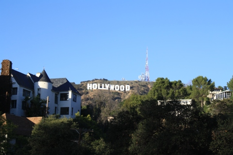 The Newly Repainted Hollywood Sign 12/10/12/Hope Anderson Productions
