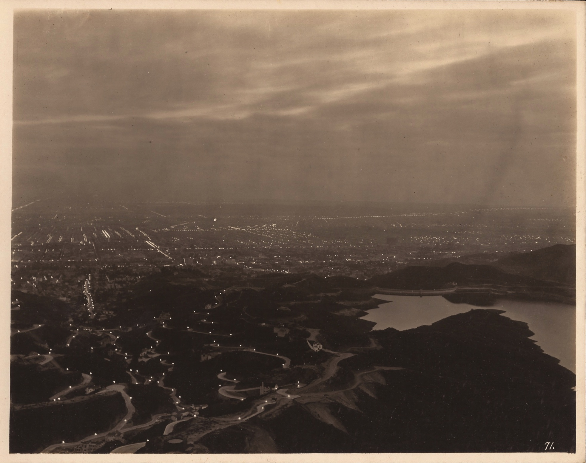 Hollywoodland And Lake Hollywood Circa 1925 Courtesy Martijn Veltman