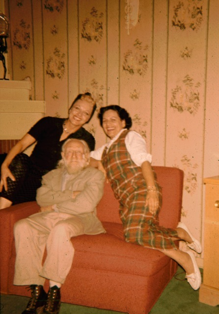 Peter the Hermit with Thareen and Mimi/Courtesy Stewart Edward Allen