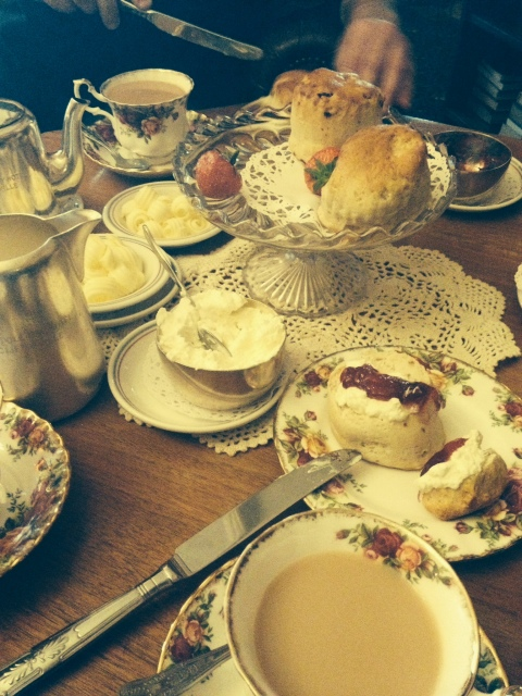 Cream Tea at the Walpole Bay Hotel