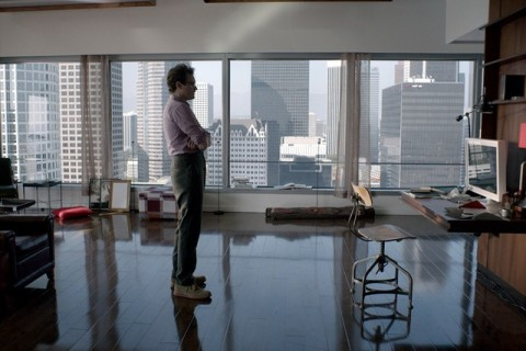 "Theodore Twombly (Joaquin Phoenix) at Home in ""Her""/Courtesy  Annapurna Pictures and Warner Bros"