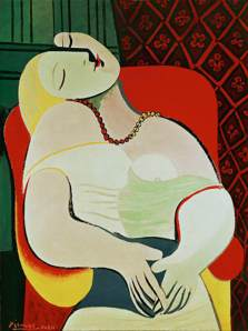 """La Reve"" (""The Dream"") by Pablo Picasso"