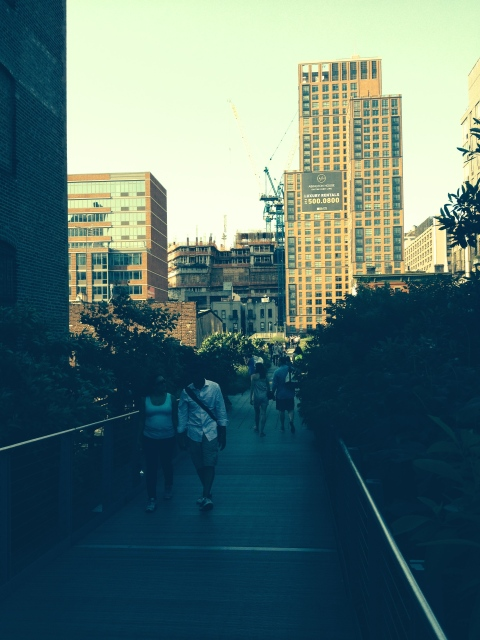 Along the High Line 6/22/14/Hope Anderson Productions