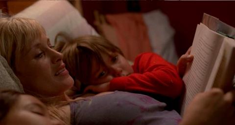 "Patricia Arquette, Lorelei Linklater and Ellar Coltrane in ""Boyhood""/Courtesy IFC Films"