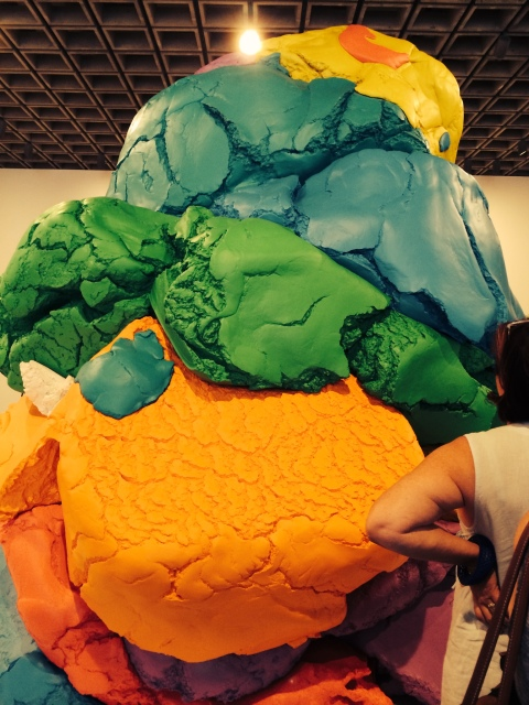 """""""Play-Doh"""" by Jeff Koons/All photos Hope Anderson Productions"""