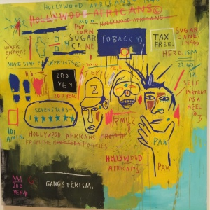 """""""Hollywood Africans"""" by Jean Michel Basquiat"""