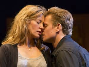 """Anna Gunn and Billy Magnussen in """"Sex With Strangers"""""""