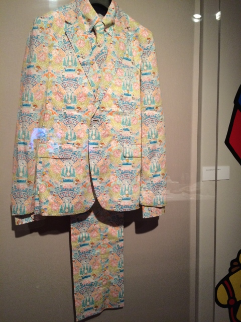 Hello Kitty Man's Suit at JANM