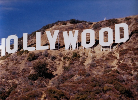 The New Hollywood Sign, Circa November 1978