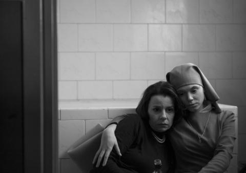 """Agata Kulesza and Agata Trzebuchowska in """"Ida"""""""