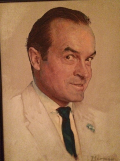 A Norman Rockwell Portrait of Bob Hope in his Toluca Lake Home/All photos Hope Anderson Productions