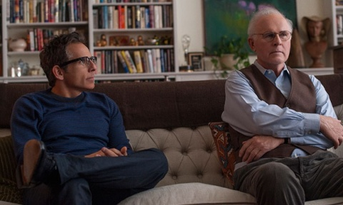 "Ben Stiller and Charles Grodin in ""While We're Young"""
