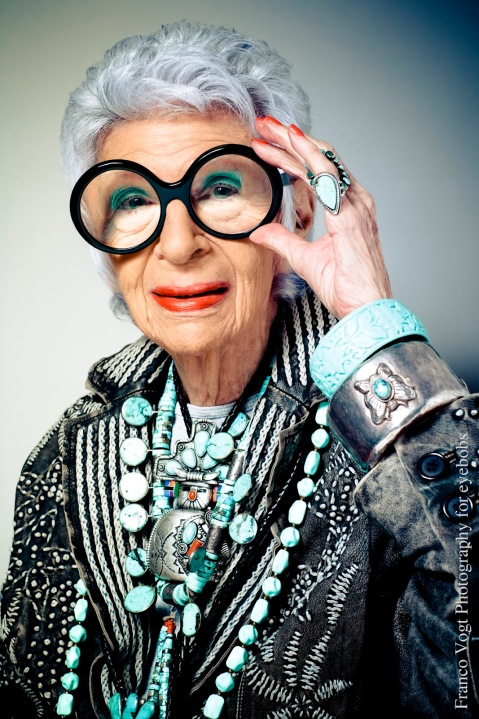 Iris Apfel/Courtesy Accessories Magazine