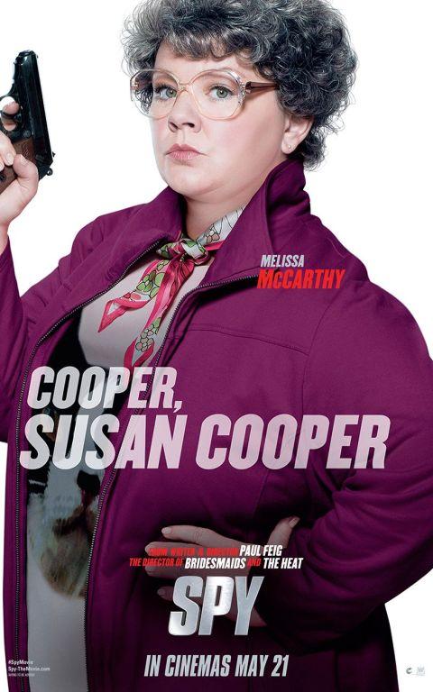"Melissa McCarthy in ""Spy"""