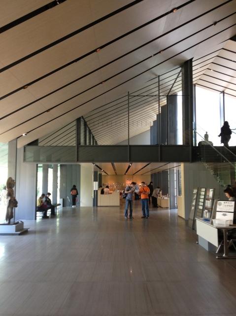 Inside Kengo Kuma's Nezu Museum in Tokyo/Hope Anderson Productions