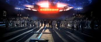 "The Mother Ship in ""Close Encounters of the Third Kind"""