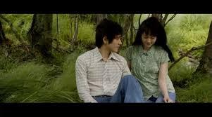 """Kenichi Matsuyama and Rinko Kikuchi in """"Norwegian Wood"""""""